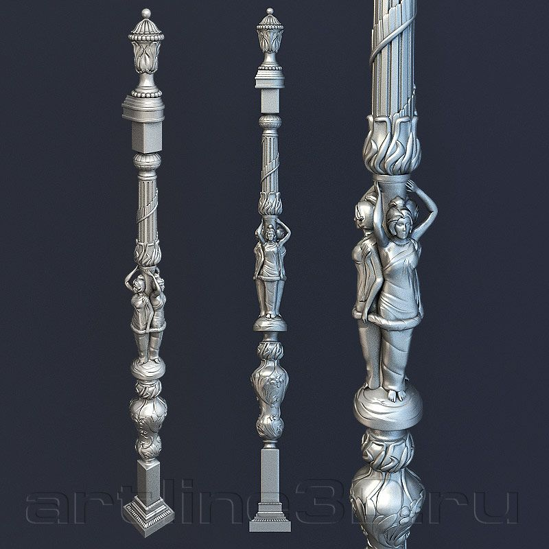 3D Модели В Формате Stl Для Чпу